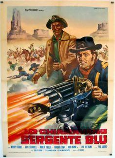 1 of 1 : GATLING GUN Italian different Mario Piovano art of Guy Stockwell with gatling gun! Western Film, Great Western, Western Movies, Western Art, Old Movies, Great Movies, Rustic Powder Room, Westerns, Cinema