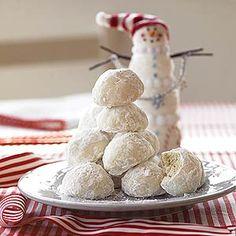 Lemon-Coconut Snowballs | MyRecipes.com