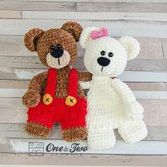Ben & Bianca Teddy Bear Cuddler  Join my SEPTEMBER CAL!!!