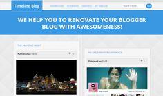 Timeline Blogger Template é um template blogger para blog pessoal e etc. Com layout simples, Timeline tem 2 colunas, 1 sidebar direita, resumo de postagem leia mais, 3 colunas de rodapé, combinação de cores azul e branco, locais para posicionar anúncios e muito mais.