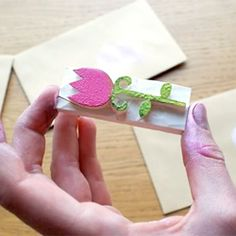 Learn how to design and make your own stamps. From 'A Piece of Lisa' blog.