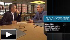 インタビューの中で「アップルにとって次の大きなもの(製品)は何ですか?」との問いに対し、クックCEOは「私がリビングに行ってテレビの電源を入れると、20年~30年前に戻ったかのような感覚に陥ります。それはすごく感心のある領域です。しかし、これ以上何も言うことはできません。」と述べた