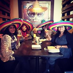 Sombrero and Margaritas, Cheers to that amigos! NZ Mexican-www.flyingburritobrothers.co.nz