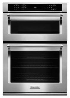 """Learn about features and specifications for the KitchenAid® 30"""" Combination Wall Oven with Even-Heat™  True Convection (Lower Oven) (KOCE500ESS)"""
