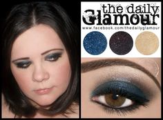 What is your favorite color smokey eye?  We love this blue one using BFTE