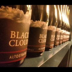 Black Cloud wine. Must find some... That's my nickname (& my clothing label)!