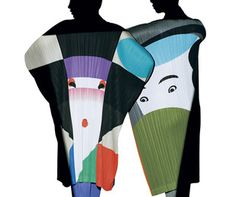 Graphic Designer Ikko Tanaka's Artworks for Issey Miyake's Latest Collection