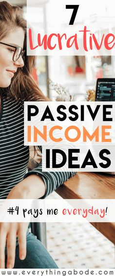 7 Creative Online Passive Income Ideas to generate extra money monthly. Earn Money Fast, Make Money Now, Earn Money From Home, Earn Money Online, Make Money Blogging, Money Tips, Passive Income Opportunities, Passive Income Streams, Interview
