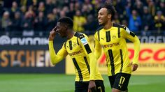 Duo gagnant de Dortmund, une jeunesse en devenir #Dembele #Aubameyang #FanEngagment #9ine @Bundesliga