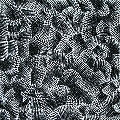 Product shot of Bush Potato Dreaming - © Alicka Brown Napanangka The Artery $360 46cmx46cm