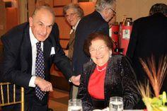 Levon Capan MD, with Irene Simon (Foundation Namesake)