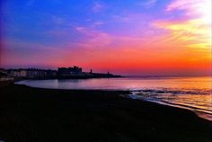 Sunset, Aberystwyth Aberystwyth, Nature Photography, Celestial, Sunset, Water, Outdoor, Beautiful, Gripe Water, Outdoors
