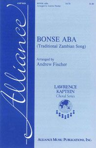 Guys, for chorus, we're singing Bonse Aba and I know it already!  LIFE. IS. GOOD.