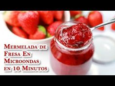 Riquisima Mermelada de Fresa En Microondas en 10 Minutos - YouTube Jello, Vegetables, Youtube, Food, Microwaves, Strawberry Jam, Preserve, Strawberries, Milk