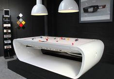 Cool Pool Table - need this for our upstairs bonus room...sweet!!!