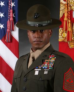 Sergeant Major of the Marine Corps (officially abbreviated to SgtMajMarCor; unofficially as SMMC) is a unique non-commissioned rank and billet in the United States Marine Corps. Description from imgarcade.com. I searched for this on bing.com/images Once A Marine, My Marine, Us Marine Corps, Military Ranks, Military History, Usmc, Marines, Drill Instructor, Special Forces