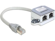 From 10.93:Delock 65441 - Cable Interface/gender Adapters (rj45 2xrj45 Male/female Grey)