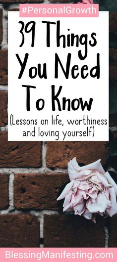 things you need to know