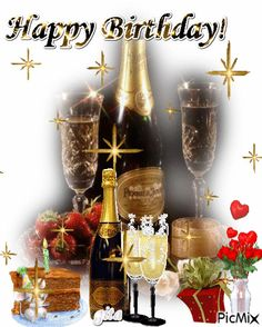 Happy Birthday Drinks, Animated Happy Birthday Wishes, Happy Birthday Cake Pictures, Happy Birthday Greetings Friends, Happy Birthday Wishes Photos, Happy Birthday Wallpaper, Happy Birthday Celebration, Happy Birthday Flower, Happy Birthday Friend