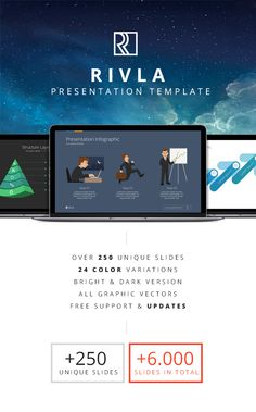 RIVLA-Multipurpose PowerPoint Template #design Download: http://graphicriver.net/item/rivlamultipurpose-powerpoint-template/11690850?ref=ksioks