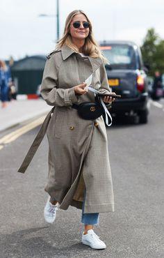 Street Style London: Die schönsten Looks der London Fashion Week … - Uber Mode Look Street Style, Street Style Trends, Spring Street Style, Cool Street Fashion, Look Fashion, Spring Fashion, Fashion Outfits, Plaid Fashion, Fashion Mode