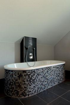 Fertighaus Wohnidee Badezimmer FLAIRplus Haus, Wohnen, Entspannter, Rund,  Badezimmer