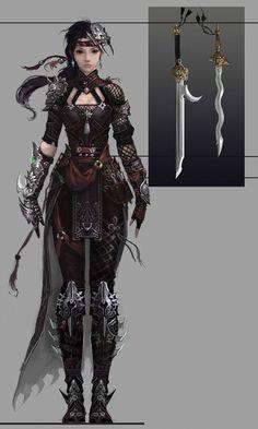 Arte y Conceptos Fantasía-RPG Parte 2