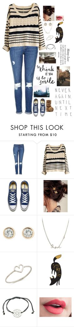 """""""{it's worth the wait}"""" by beleg-teleri ❤ liked on Polyvore featuring Topshop, Converse, WALL, Sydney Evan, Aurélie Bidermann and GET LOST"""