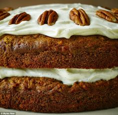 carrot and apple cake- a light version