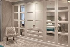 The Heritage Wardrobe Company Bespoke Wardrobe Gallery – fantastic room avesome Bedroom Built In Wardrobe, Luxury Wardrobe, Wardrobe Room, Bedroom Closet Design, Luxury Closet, Closet Designs, Home Decor Bedroom, Wardrobes For Small Bedrooms, Fitted Bedroom Wardrobes