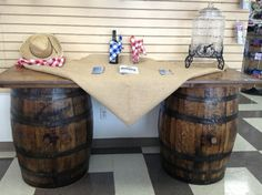 Awesome barrel bar for a western themed party! partytime rentals, party, events, Please visit our website @ www.steampunkvapemod.com