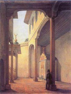 1837. Пушкин в Бахчисарайском дворце - Бахчисарайский фонтан — Википедия
