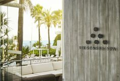 Welcome to our bright and #peaceful Six Senses Spa Marbella in #Spain!