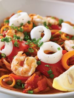 Seafood Pasta with Aligue Sauce by Chef Tatung Sarthou