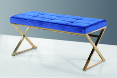 Looking for a little Glitz & Glam? This GLITZY bench from our K-Elite Collection is a beautiful addition to any home & perfect for your showroom! Call us today for wholesale pricing on these & other home furnishings. Ottoman Furniture, Accent Furniture, Glitz And Glam, Blue Fabric, Vanity Bench, Home Furnishings, Walmart, Ottomans, Showroom