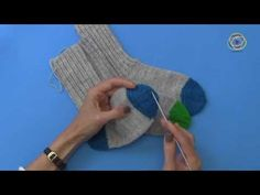 Projekt: Sockenstricken 1. Teil - YouTube