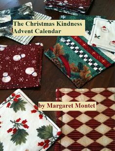 The Christmas Kindness Advent Calendar project: a spurt of inspiration, unexpected success, my first ebook experiment, and an Advent Quilt. Check it out!