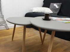 Mes tables gigognes dans Créative, le Magazine du DIY !