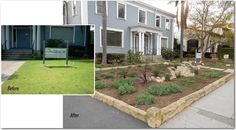 The Santa Barbara, CA, Association of Realtors transforms their water thirsty lawn into a rain garden with the help of WMG's Santa Barbara Green Living Co-op members. Watershed Management, Rain Garden, Permaculture, The Help, Sustainability, Lawn, Sidewalk, Patio, Santa Barbara