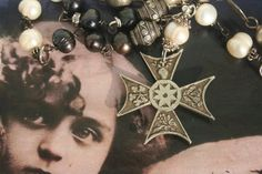 Your place to buy and sell all things handmade Medieval Jewelry, Gothic Jewelry, Royal Jewelry, Antique Jewelry, Silver Jewelry, Vintage Jewelry, Funky Jewelry, Jewelry Ideas, Handmade Jewelry