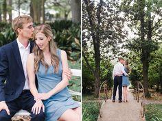Lafayette Alumni Gardens Engagements: Jordan + Jeff