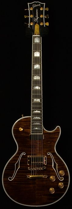 gibson - les paul supreme. root beer.