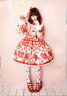 Angelic Pretty 2015, Spring Collection, Part 3 - Cherry Marguerite