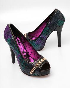 sequin glory #heels