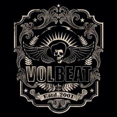 I love Volbeat. Music Like, Music Stuff, Volbeat Tattoo, Great Bands, Cool Bands, Band Posters, Wallpaper Pictures, Metalhead, Some Pictures