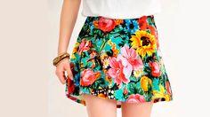 Blossom Circle Skirt | Znaffle, #Znaffle, #BeckyG, #StealHerStyle, #WhatStarsWear, Spot this item in the original music video, http://znaffle.com/videos/becky-g-play-it-again-537