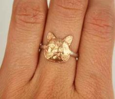 Stackable Love Cats Ring