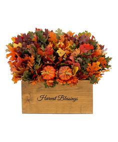 Loving this 'Harvest Blessings' Arrangement on #zulily! #zulilyfinds