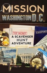Washington, D.C. Book For Kids: MISSION WASHINGTON, D.C. - A SCAVENGER HUNT ADVENTURE; This book takes your young travelers through the famous sights, engaging them with an exciting scavenger hunt as you explore London landmarks together as a family. Click to read more...
