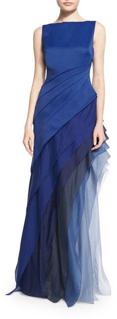 women / dress $695 by Halston